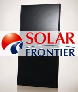 Solar Frontier photovoltaic panels
