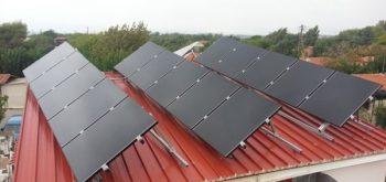 Αυτόνομο φωτοβολταϊκό με πάνελ Solar Frontier