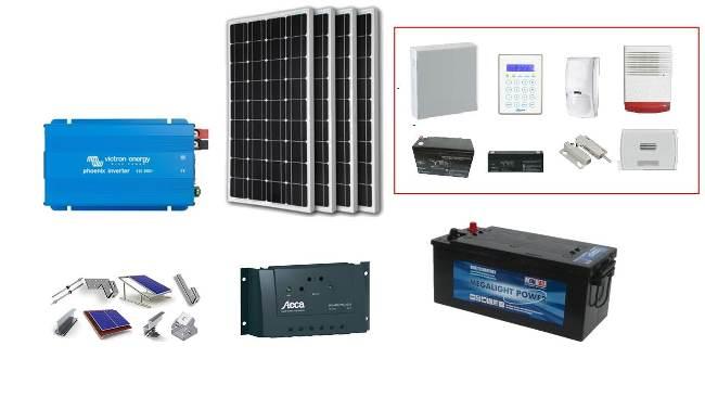 Αυτόνομο φωτοβολταϊκό σύστημα για συναγερμό