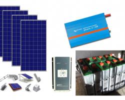 Basic Solar Plus – Αυτόνομο φωτοβολταϊκό πακέτο για μόνιμη κατοικία
