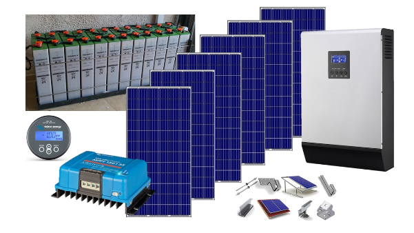 Αυτόνομο φωτοβολταϊκό KIT Ultra Solar για εξοχική κατοικία