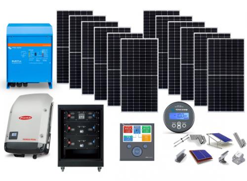 Αυτόνομο φωτοβολταϊκό πακέτο για μόνιμη κατοικία LiON ESS Flexi-Solar με μπαταρία λιθίου
