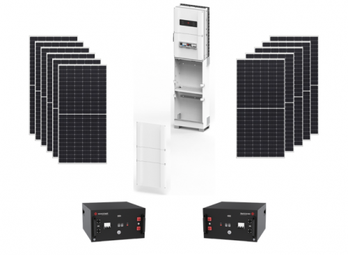 Φωτοβολταϊκό πακέτο Li-Ion Home Solar με μπαταρία λιθίου
