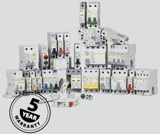 Noark products 5 year quarantee