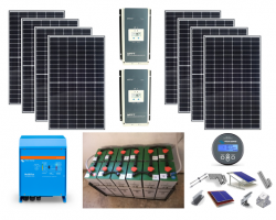 Smart Home Solar Plus – Αυτόνομο φωτοβολταϊκό πακέτο για μόνιμη κατοικία