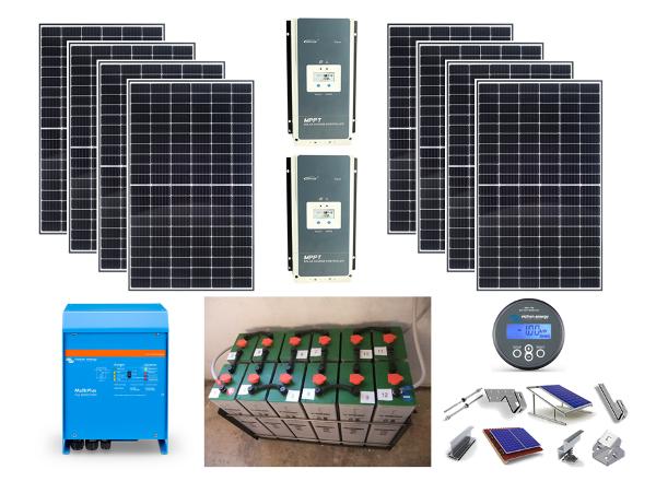 Αυτόνομο φωτοβολταϊκό πακέτο Smart Solar Home Plus για μόνιμη κατοικία