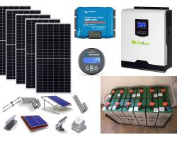 Smart Home Solar – Αυτόνομο φωτοβολταϊκό πακέτο για μόνιμη κατοικία