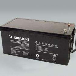 Μπαταρία βαθειάς εκφόρτισης Sunlight Solar 12-200 S