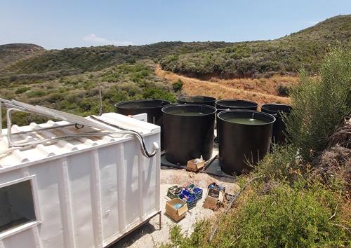 Άντληση νερού με φωτοβολταϊκά και αποθήκευση σε δεξαμενές
