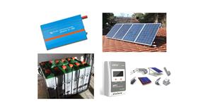Αυτόνομο φωτοβολταϊκό πακέτο Basic Solar Plus για μόνιμη κατοικία