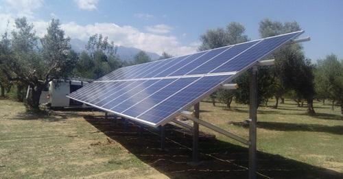 Φωτοβολταϊκά για άντληση νερού χωρίς μπαταρίες