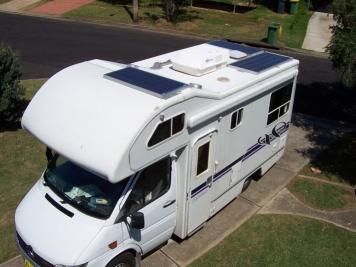 caravan photovoltaic