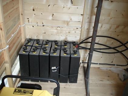 2V Batteries OPzV σε αυτόνομο φωτοβολταϊκό σύστημα με γεννήτρια