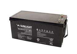Μπαταρία βαθειάς εκφόρτισης AGM Sunlight Accuforce Solar 12-200 S