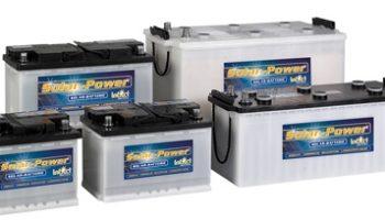 μπαταρίες block 6V, 8V,12V ανοιχτού τύπου