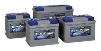 μπαταρίες block 6V, 8V,12V κλειστού τύπου AGM.