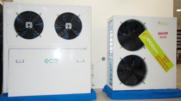 Αντλία θερμότητας χαμηλών θερμοκρασιών 13,5kW Eco Plus SWBB 13,5