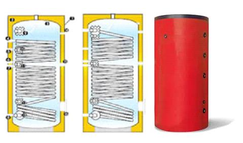 Μπόιλερ λεβητοστασίου για θέρμανση και ζεστά νερά χρήσης