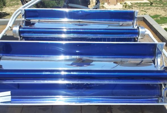 Ηλιακοί συλλέκτες κενού MAG σε κατοικία για την παραγωγή ΖΝΧ