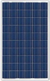 Φωτοβολταϊκό πάνελ 250-280Watt Amerisolar A6-6P30 πολυκρυσταλλικό