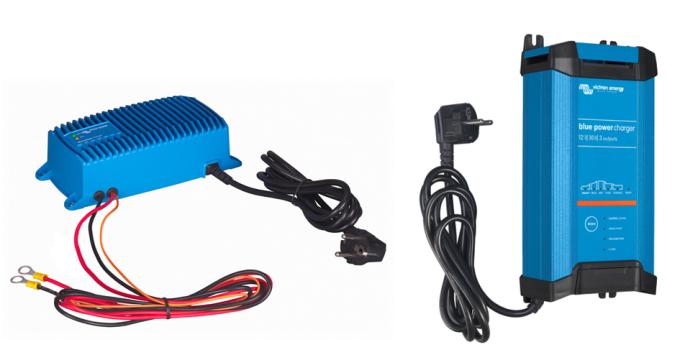 Φορτιστές μπαταριών Victron Blue Power IP67 (αδιάβροχοι) και IP22 (εσωτερικού χώρου)
