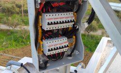 Ηλεκτρολογικός πίνακας με ασφάλειες DC