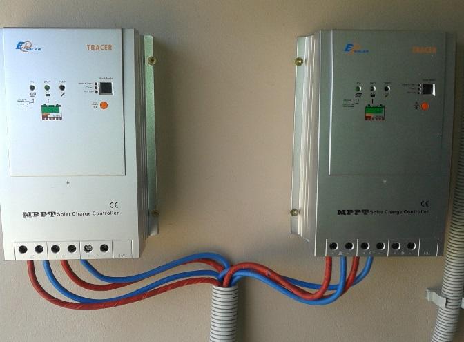 Ρυθμιστές φόρτισης MPPT EP Solar 30A