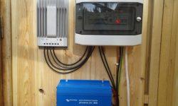 Ινβέρτερ-Ρυθμιστής φόρτισης-Πίνακας DC-AC