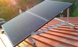 ΦΒ πάνελ Solar Frontier σε στέγη