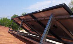 Βάσεις στήριξης φωτοβολταϊκών πάνελ