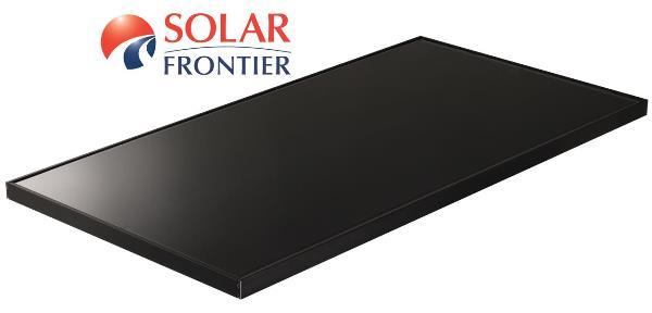 Φωτοβολταϊκά πάνελ Solar Frontier υψηλής παραγωγής