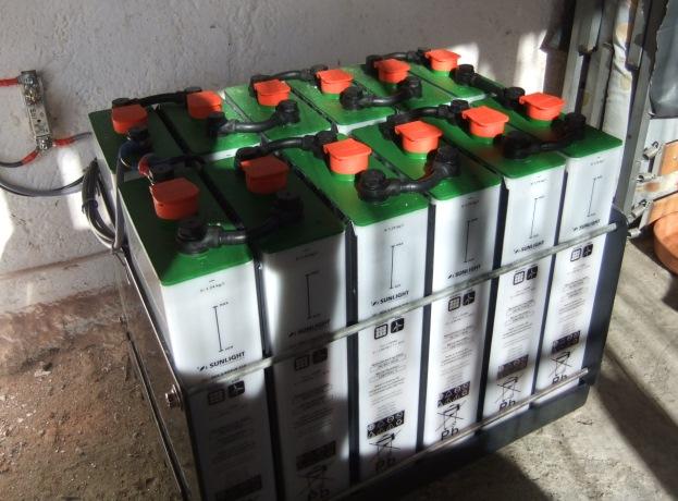 Μπαταρίες βαθιάς εκφόρτισης 2 βολτ με βάση