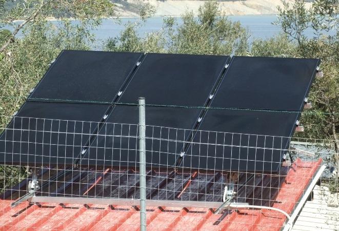 Φωτοβολταϊκά υψηλής παραγωγής Solar Frontier σε αυτόνομο φωτοβολταϊκό