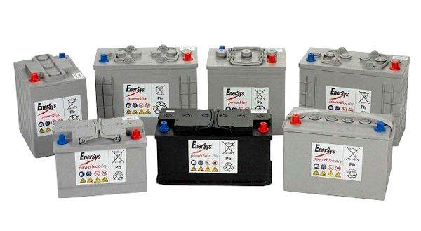 Μπαταρίες μπλοκ έλξης 6V και 12V Enersys για κλαρκ, ηλεκτρικά αμαξίδια, κλπ
