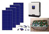 Αυτόνομο φωτοβολταϊκό πακέτο για εξοχική κατοικία Top Solar Plus