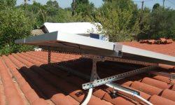 Βάση φωτοβολταϊκού με χάλυβα διπλα γαλβανισμένο για μεγάλη αντοχή στα άλατα