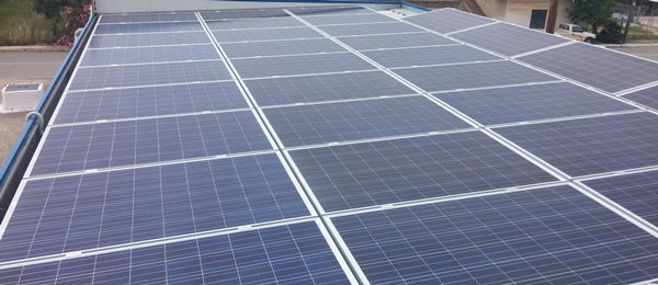 Φωτοβολταϊκά 20kWp σε στέγη επιχείρησης με net metering