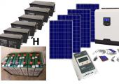 Αυτόνομο φωτοβολταϊκό πακέτο για εξοχικό Top Solar