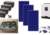 Αυτόνομο φωτοβολταϊκό πακέτο για εξοχική κατοικία Standard Solar Plus