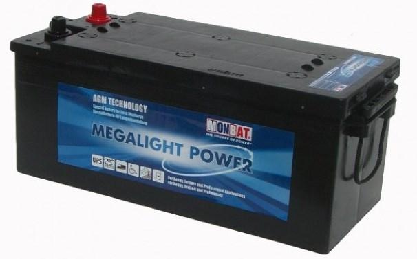 Μπαταρία βαθειάς εκφόρτισης 12V AGM Monbat Megalight