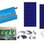 Αυτόνομο φωτοβολταϊκό πακέτο Basic Solar