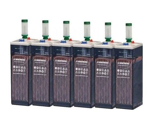Μπαταρίες βαθειάς εκφόρτισης 2V Hoppecke SunPower με τον ανακυκλωτή αερίων Aquagen