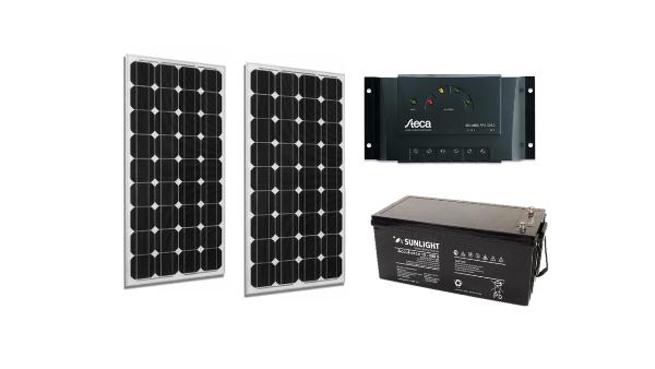 Aftonomo fotovoltaiko paketo Start Solar