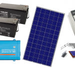 Αυτόνομο φωτοβολταϊκό πακέτο για εξοχική κατοικία Basic Solar