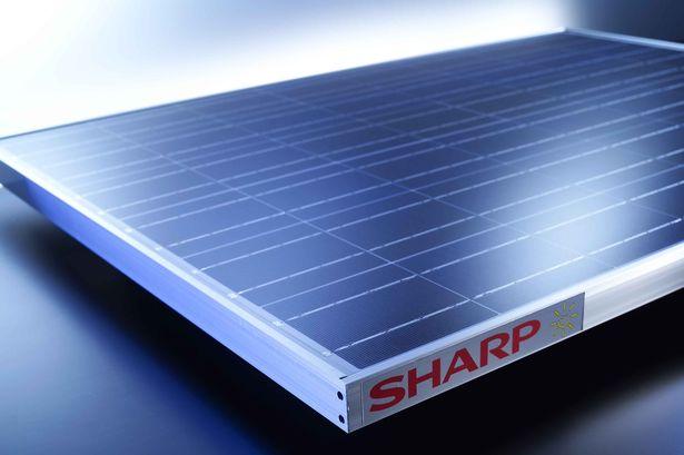 Φωτοβολταϊκό πάνελ Sharp
