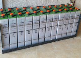 Μπαταρίες βαθιάς εκφόρτισης σε αυτόνομο φωτοβολταϊκό στην Εύβοια