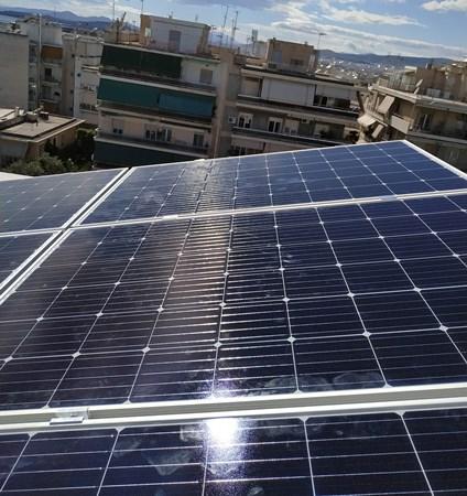 Φωτοβολταϊκά Sharp στη Νέα Σμύρνη σε Net Metering για μείωση λογαριασμών ρεύματος
