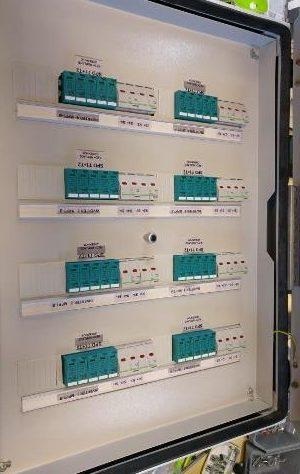 Ηλεκτρικός πίνακας DC φωτοβολταϊκού