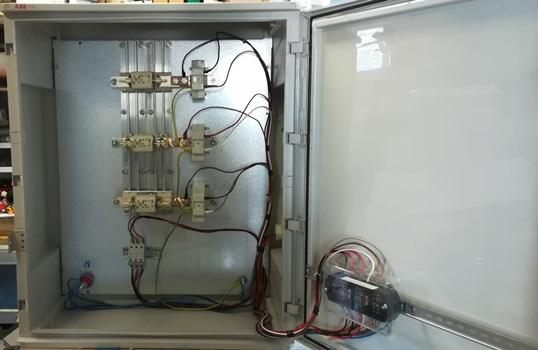 Πίνακας μετρητικής διάταξης φωτοβολταϊκού Net Metering πάνω από 55kW