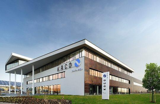 Οι εγκαταστάσεις της Kaco New Energy στη Γερμανία